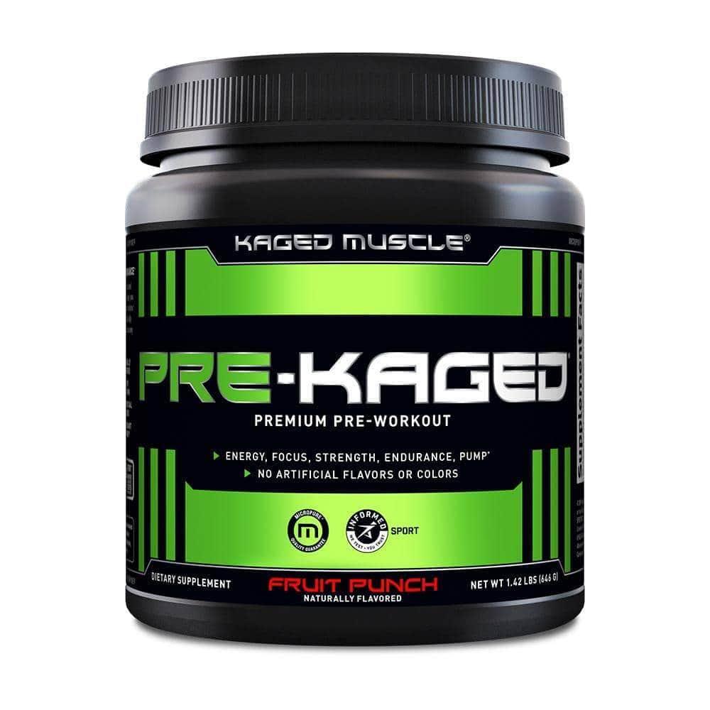 Pre-Kaged Premium Pre-Workout
