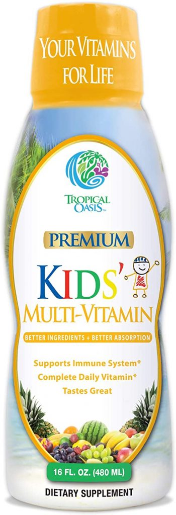 Premium Kids Liquid Multivitamin & Superfood