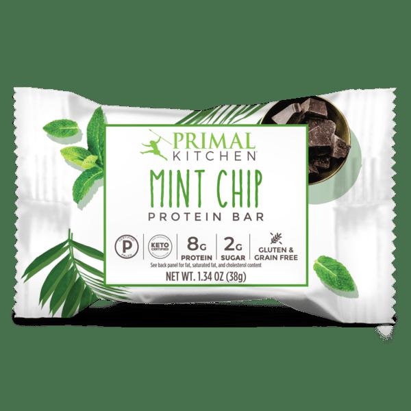 Primal Kitchen Protein Bars Mint Chip sachet