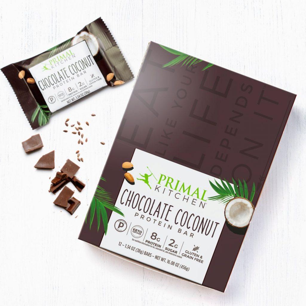 Primal Kitchen Protein Bars chocolate