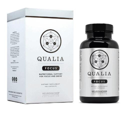 Qualia Focus Box And Bottle