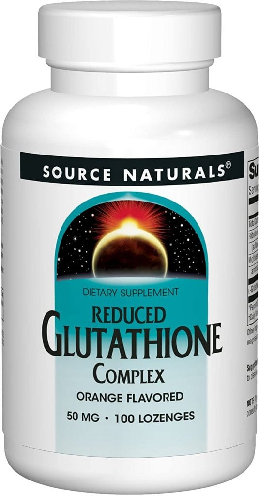 Reduced Glutathione Complex, from Source Naturals