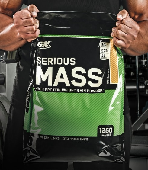Serious Mass by Optimum Nutrition pack