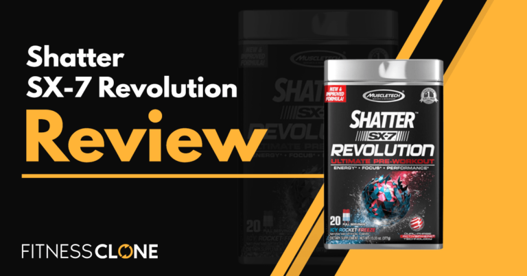 Shatter SX-7 Revolution Review – Is This Truly The Ultimate Pre-Workout?