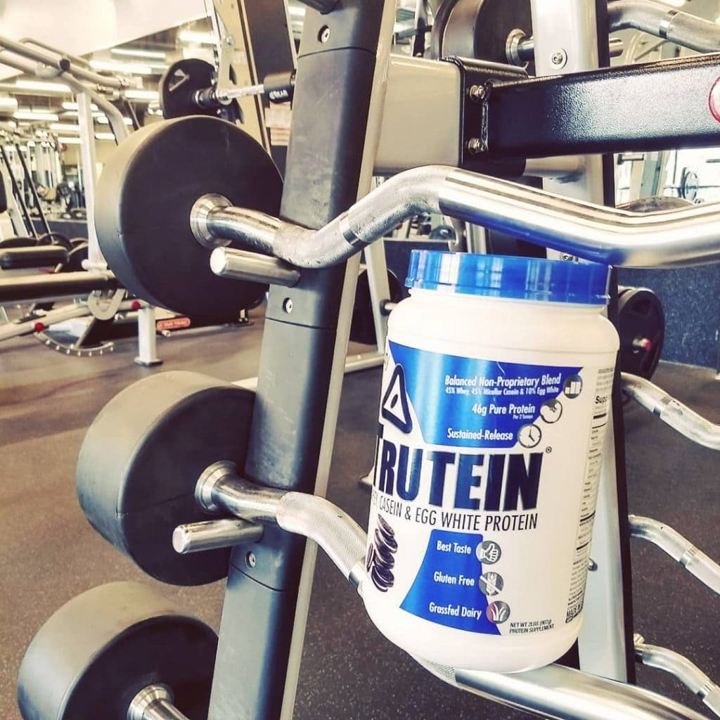 Trutein in the gym