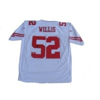 Willis Autographed Jersey