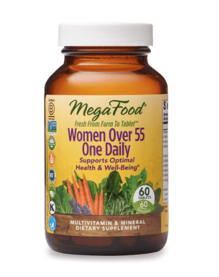 Women's Over 55 One Daily, from Mega Food