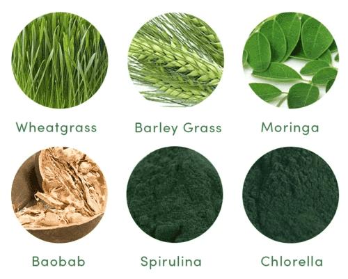 Your Super Super Green Mix Ingredients