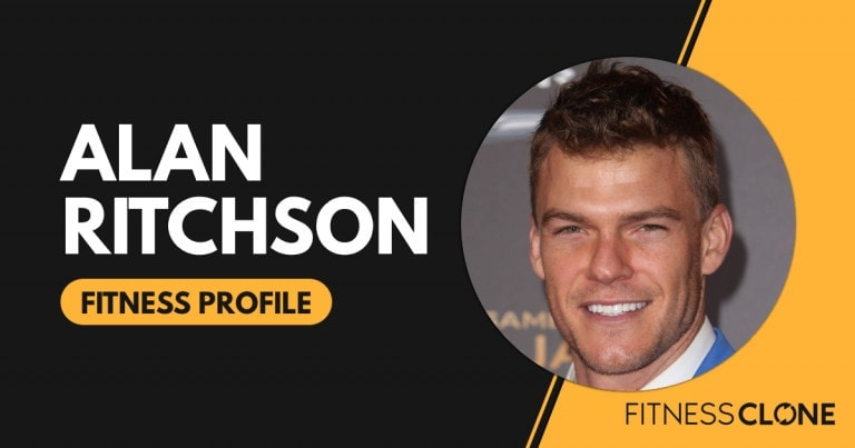 Alan Ritchson Workout and Diet