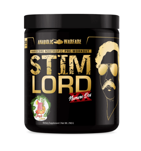 Anabolic Warfare Stim Lord Numero Dos Bottle
