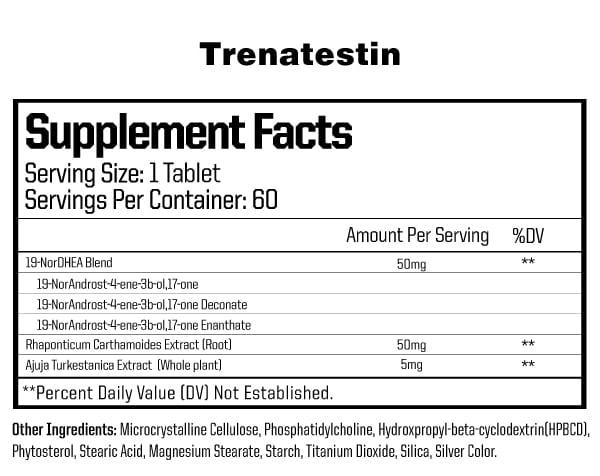 Anabolic Warfare Trenatestin Ingredients