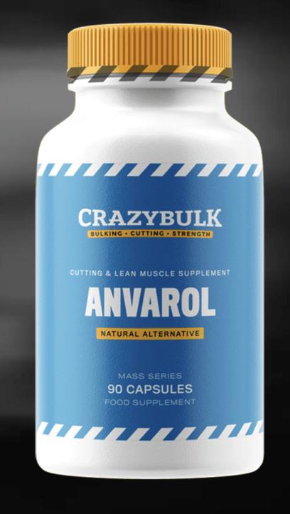 Anvarol Bottle