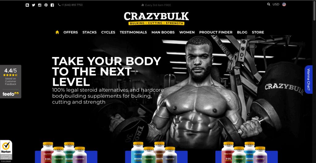 CrazyBulk DecaDuro Website