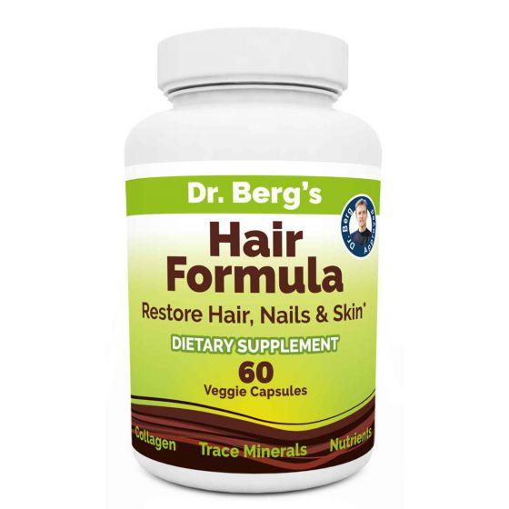 Dr. Berg's Hair Formula Bottle