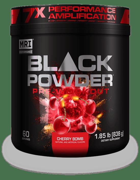 MRI Performance Black Powder Bottle