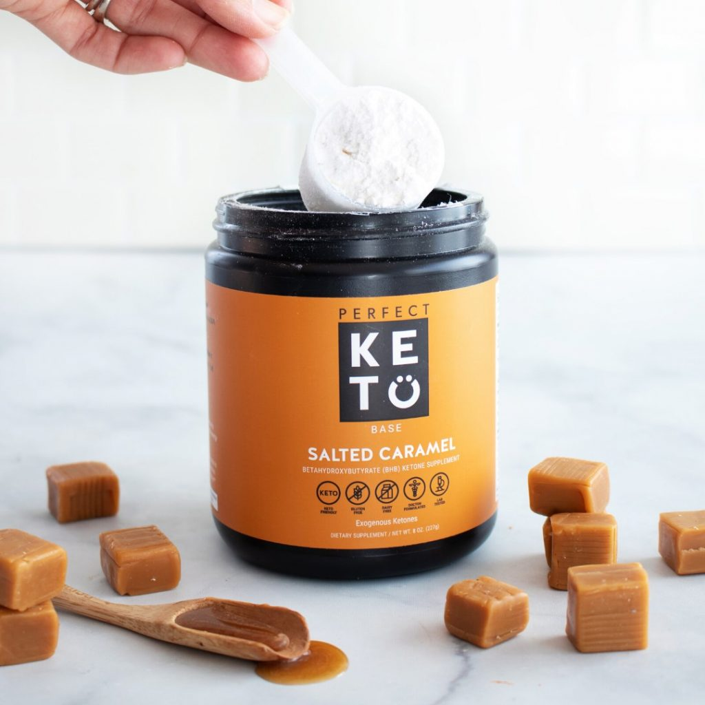 Perfect Keto Collagen salted caramel