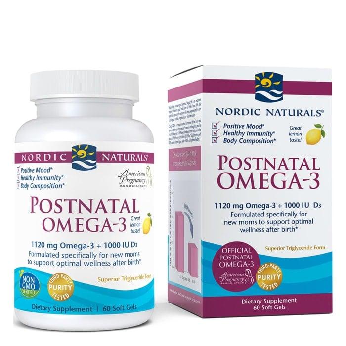 Postnatal Omega-3, from Nordic Naturals