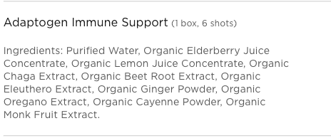 Adaptogen Immune Support Ingredients
