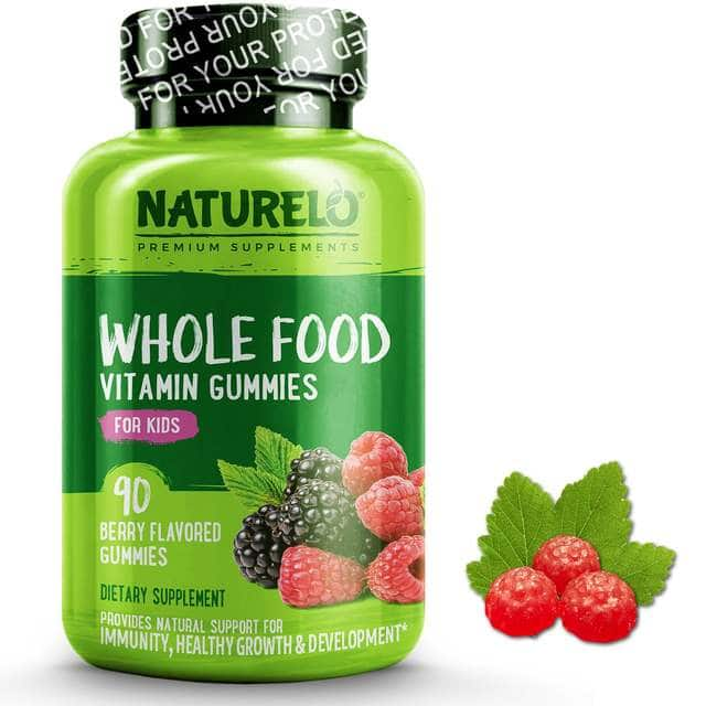 Whole Food Vitamin Gummies for Kids, from Naturelo