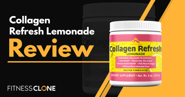 Collagen Refresh Lemonade Review – Will This Collagen Peptide Powder Work For You?