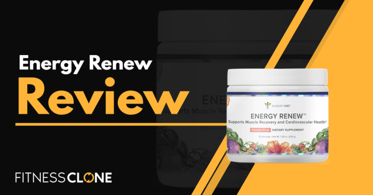 Energy Renew Review – An In-Depth Look At This Gundry MD Supplement