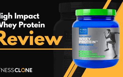 High Impact Whey Protein Review – A Supplement from Tony Horton and Power Life
