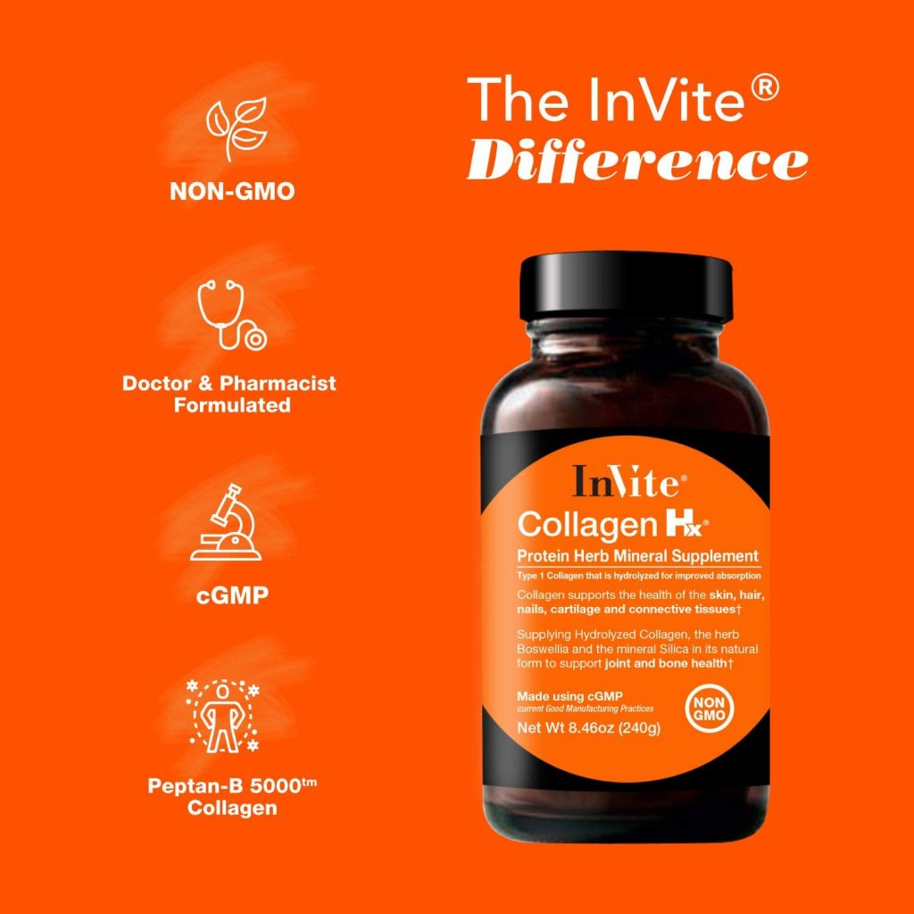 Invite Health Collagen Hx Features