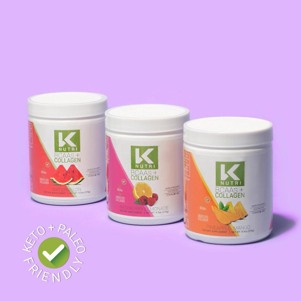 K Nutri BCAAS + Collagen Selections