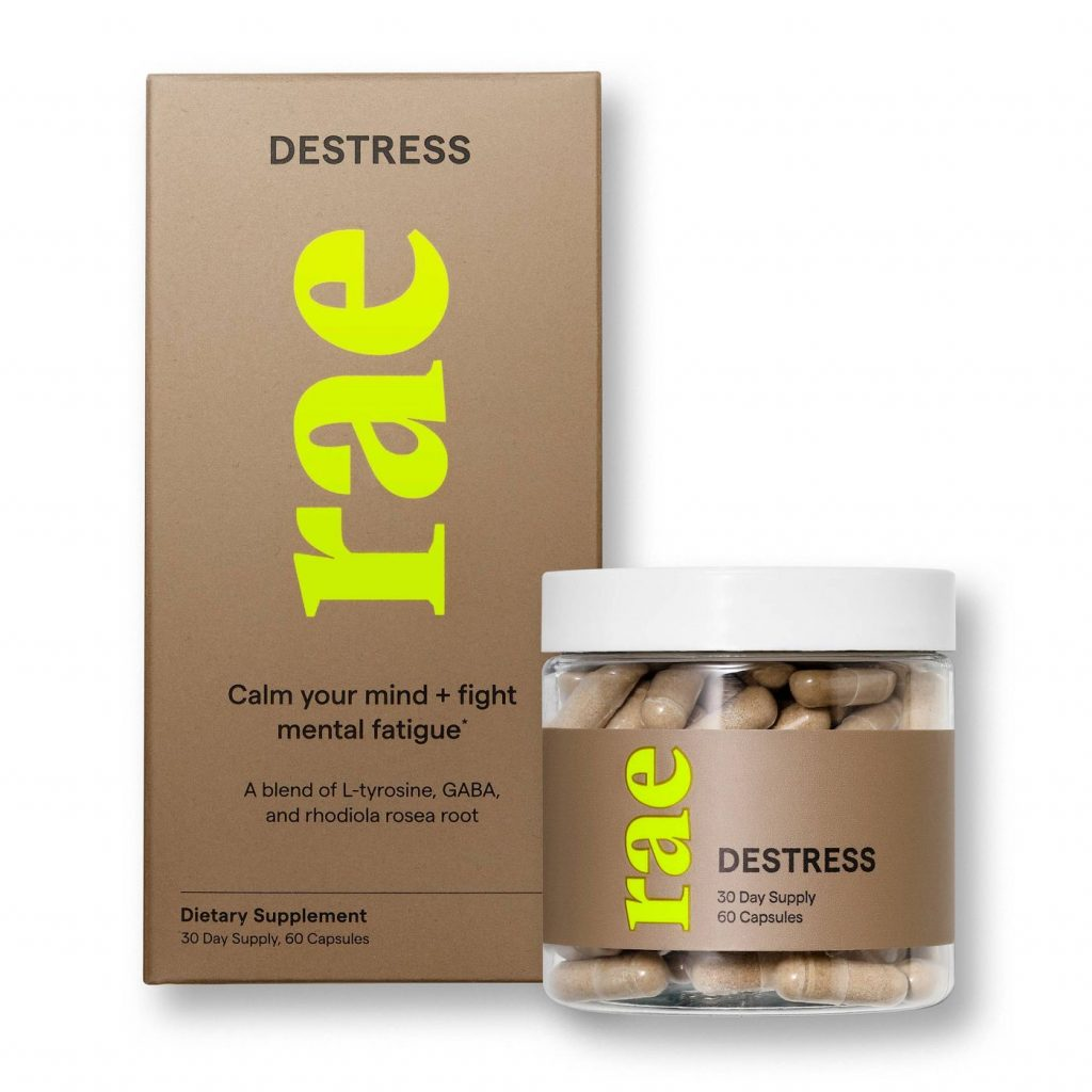 Rae Destress Dietary Supplement