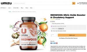 Umzu Redwood Website