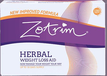 Zotrim Herbal Weight Loss Aid Box