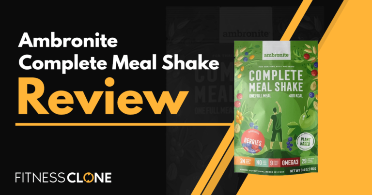 Ambronite Complete Meal Shake Review – Can This Product Really Replace Your Meals?