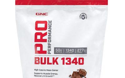 GNC Pro Performance Bulk 1340 Review – Can It Help You Gain Mass?