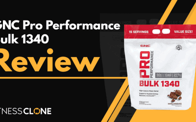 GNC Pro Performance Bulk 1340 Review – Can It Help You Gain Mass?
