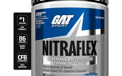 Nitraflex Review – Is This Gat Sport Pre-Workout A Solid Choice?