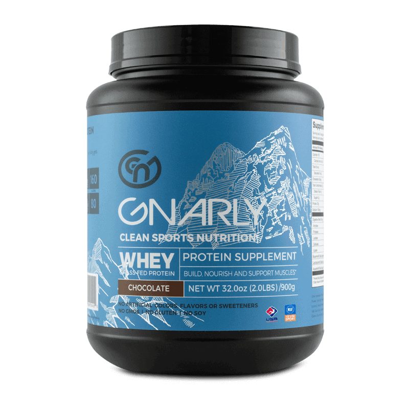 Gnarly Whey Protein Bottle