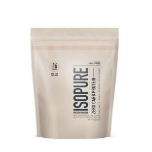 Isopure Unflavored Zero Carb Protein Powder