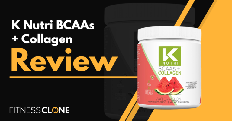 K Nutri BCAAs + Collagen Review – Is This Supplement Worth Buying?