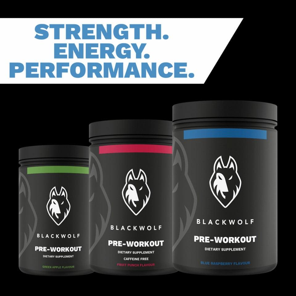 Black Wolf Pre-Workout Supplement