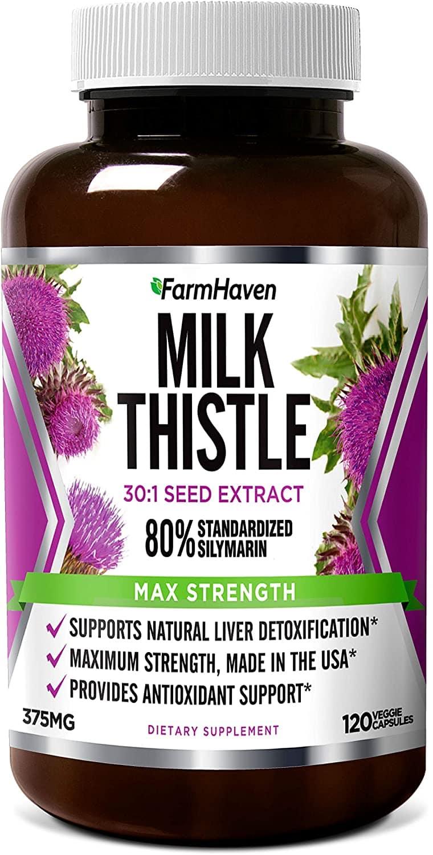 FarmHaven Milk Thistle Capsules
