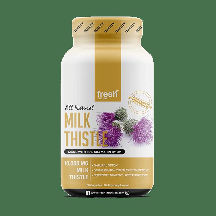 Fresh Nutrition Milk Thistle Capsules