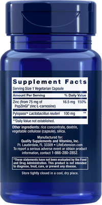 Gastro-Ease Supplement Facts