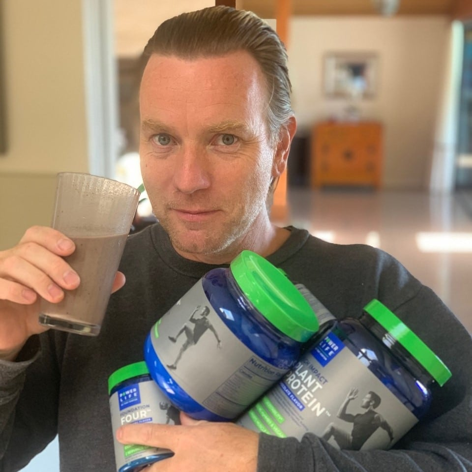 High Impact Plant Protein Supplement Shake