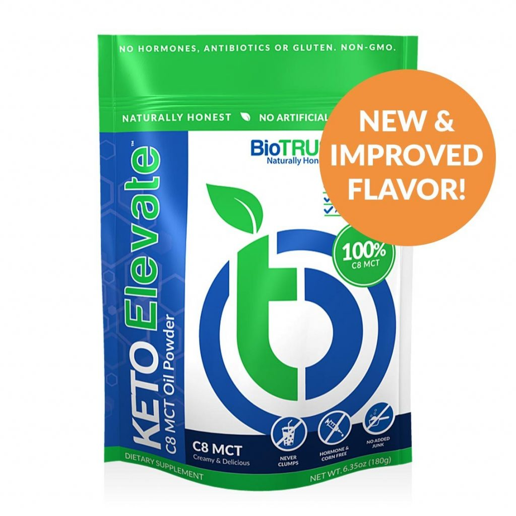 Keto Elevate C8 MCT Oil Powder