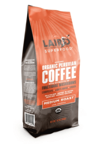 Mushroom Coffee by Laird Superfood