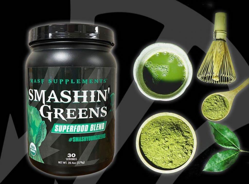 Smashin' Greens Powders