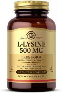 Solgar L-Lysine 500MG