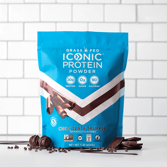 Iconic Protein Drink Chocolate Truffle Bag