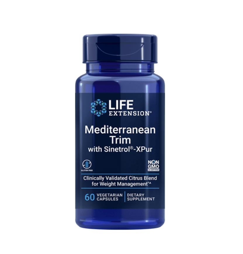 life extension mediterranean trim with sinetrol bottle