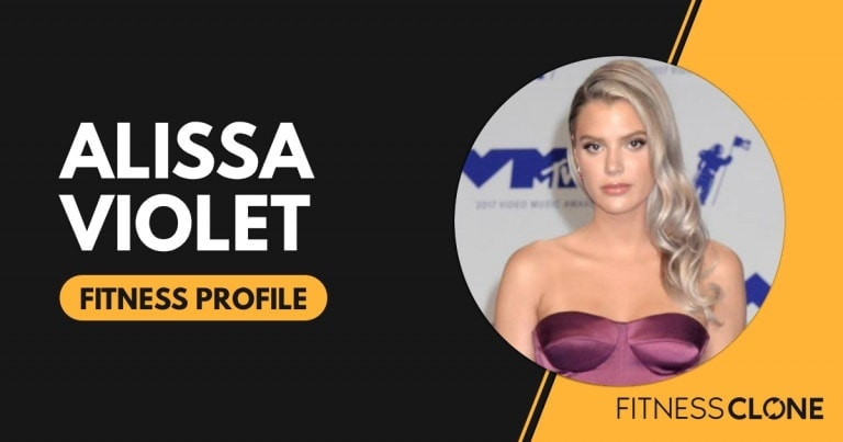 Alissa Violet Workout and Diet